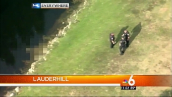 Body in Water in Lauderhill