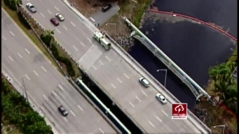 Firefighters Rescue Man From North Miami Beach Canal