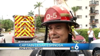 Hialeah Apartment Building Struck by Lightning During Severe Weather