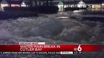 Cutler Bay Water Main Break