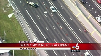 Fatal Motorcycle Crash on I-95 SB Impacts Traffic