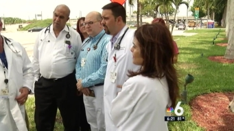 Group of Kendall Regional Doctors Protest Hospital Change