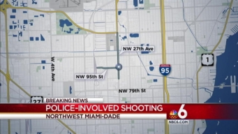 Officer-Involved Shooting in NW Miami-Dade: MDPD