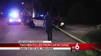 2 Dead After Driving Vehicle Into Miramar Canal