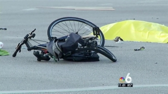 Cyclist Struck and Killed by Car in Plantation