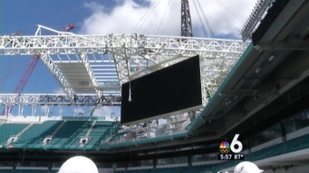Behind-the-Scenes Tour of Renovated Dolphins Stadium