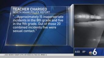 North Miami Religious School Teacher Accused of Molesting Student