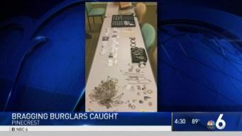 Burglars Nabbed After Bragging on Facebook: Pinecrest Police
