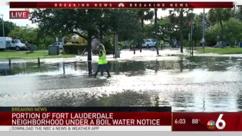 Precautionary Advisory for Some Waterways in Fort Lauderdale