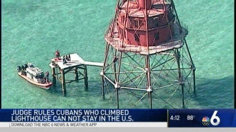 Migrants Who Reached Keys Lighthouse Ordered Back to Cuba