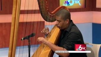 Miami Music Festival: Harpist
