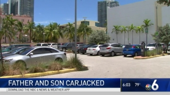 Father And Son Victims of Armed Carjacking in Miami Beach