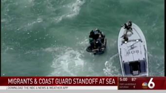 Cuban Migrants Intercepted Near Key Biscayne