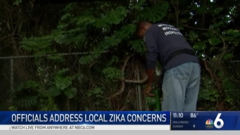 South Florida Residents Staying Alert For Zika threat