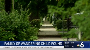 Family of Wandering Boy Found, Speaking With Police