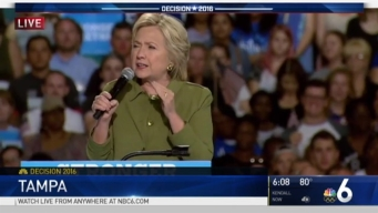 Hillary Clinton in Florida Ahead of DNC