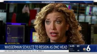 DNC Chairwoman Debbie Wasserman Schultz to Resign