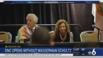 DNC Opens Without Wasserman Schultz