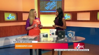 Home Depot Summer Tips to Cool Off