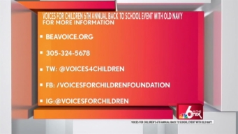 """Voices for Children"" Back to School Event"