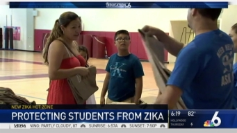 Zika Concerns Take Center Stage on Miami Beach During First Day of School