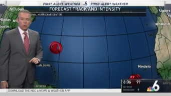 NBC 6 Monitoring 3 Systems in the Atlantic