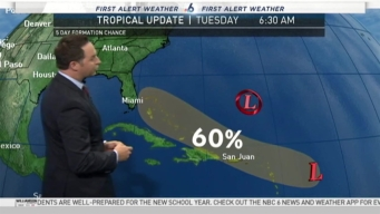 Tropical Wave being Watched For Possible Development Into Storm