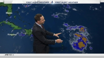 South Florida Keeping an Eye on Storms in The Tropics and Atlantic