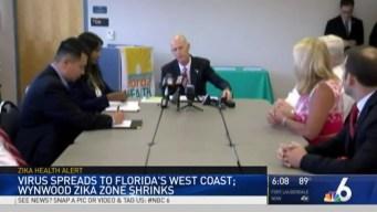 First Locally-Transmitted Zika Case in Pinellas, Wynwood Zika Zone Shrinks