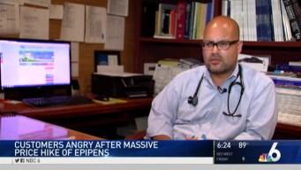 Cost of Lifesaving EpiPen Medicine Skyrockets
