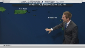 NBC 6 Update on Tropical Wave in Atlantic Ocean
