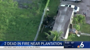 Deadly Mobile Home Fire Breaks Out Near Plantation