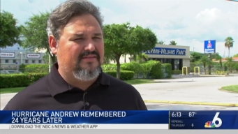 South Florida Remembers Hurricane Andrew on 24th Anniversary