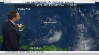Tracking the Tropics - 11 AM Thursday August 25