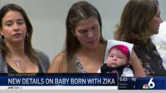 New Details on Baby Born With Zika Virus in Miami