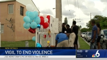 Vigil Held After Teen Shot and Killed in Miami