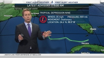 Tracking the Tropics - 11AM August 31