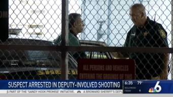 Suspect in BSO Deputy-Involved Shooting in Booked in Jail