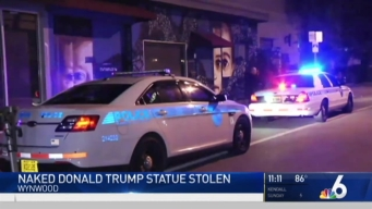 Naked Trump Statue Stolen From Wynwood Location