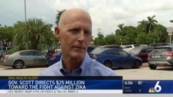 Florida to Put $25M Toward Developing Zika Vaccine: Gov. Scott