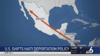 US Shifts Haiti Deportation Policy