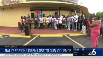Rally for South Florida Children Lost to Gun Violence