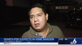 Search Continues For Those Involved in Hallandale Beach Home Invasion