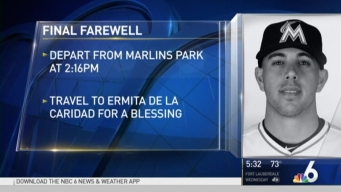 Funeral Procession Wednesday for Jose Fernandez
