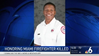 Family, Friends Say Final Goodbyes to Miami Firefighter Killed in Shooting