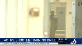 Broward Sheriff's Office Holds an Active Shooter Drill