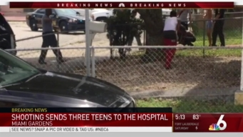3 Teens Reportedly Shot in Miami Gardens