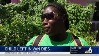 Investigation Continues Into Death of Child Found in Daycare Van in Miami