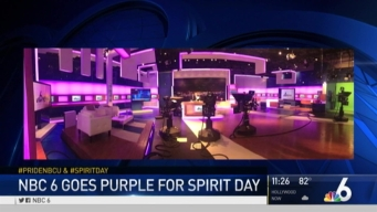NBC 6 Celebrating Spirit Day