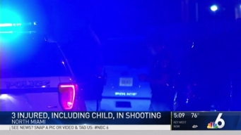 3 Injured, Including Child, in North Miami Shooting